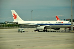 Air China aircraft in Munich