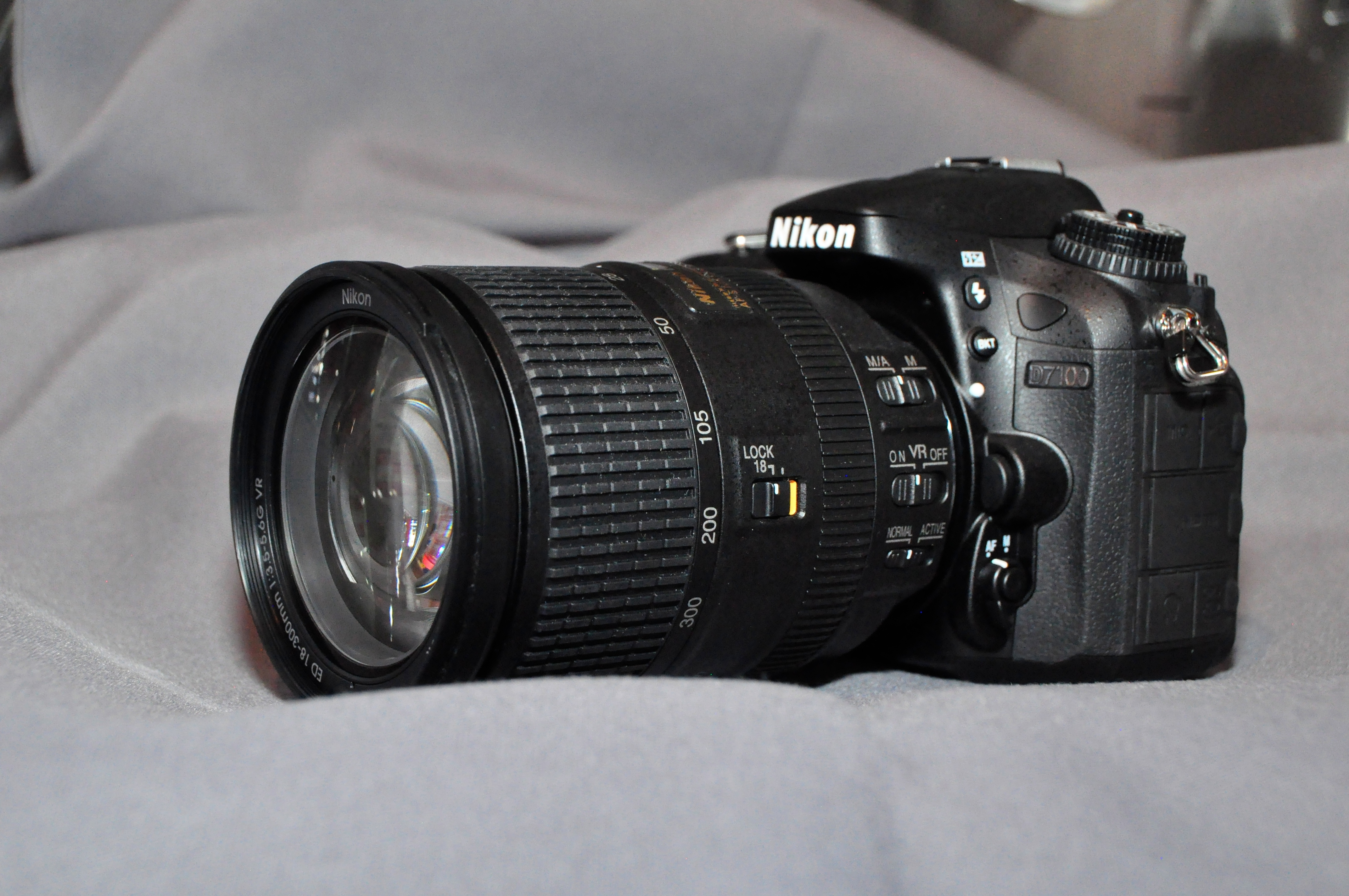 Nikkor 18-300 on a Nikon D7100 body