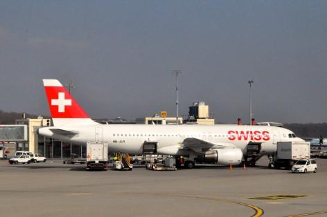 A Swiss jet in Geneva