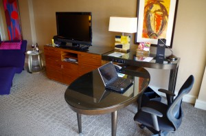 A Kimpton hotel room