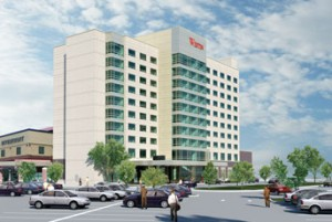 A rendering of the Westin Wilmington