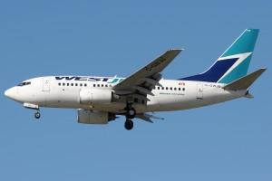 A WestJet Boeing 737-600