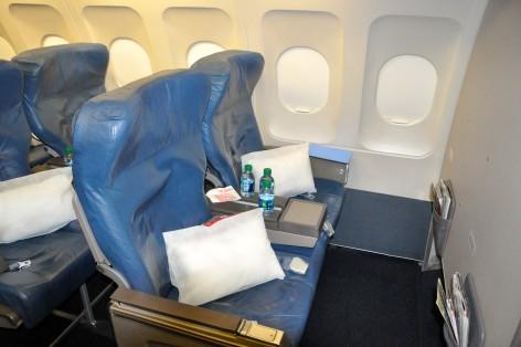 The author's seat