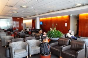A United Club lounge in Denver