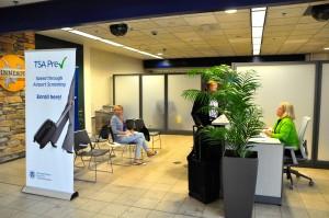 A TSA enrollment center