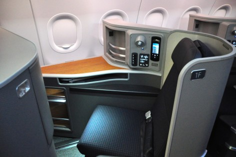 American's new first-class seats on the A321T