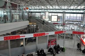 Fiumicino Airport in Rome