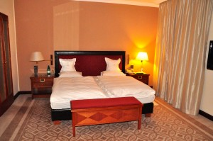 A Kempinski hotel room
