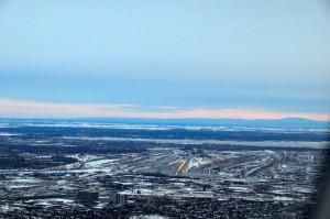 On approach to Montréal–Pierre Elliott Trudeau International Airport