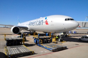 American flies Boeing 777-300ER aircraft to London
