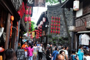 Jinli Ancient Street in Chengdu, China
