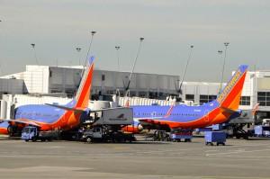 Southwest planes in Seattle