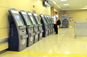 Global Entry kiosks at JFK