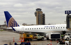 United aircraft in Minneapolis