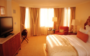 A Ritz-Carlton hotel room