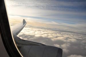 An A330 in flight
