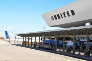 United's terminal at JFK