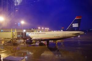 US Airways plane at Washington Reagan