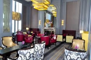 A Ritz-Carlton lobby