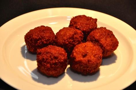 Falafel balls from Naomi's
