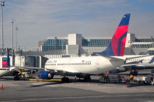 Delta planes at LaGuardia