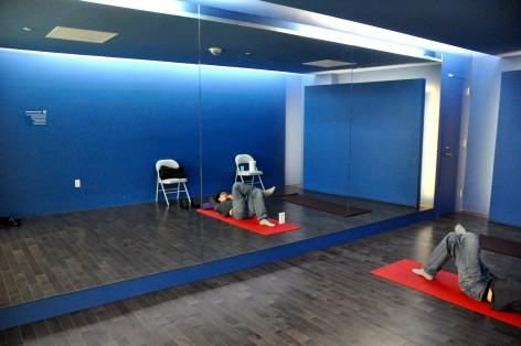 Yoga room in San Francisco