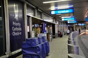 American terminal at LaGuardia