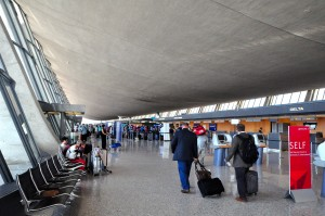 Check-in at Washington Dulles International Airport