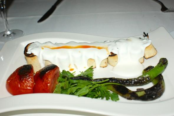 A meal at Al Bushra