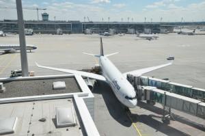 A Lufthansa plane in Munich