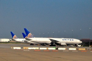 United aircraft at Washington Dulles