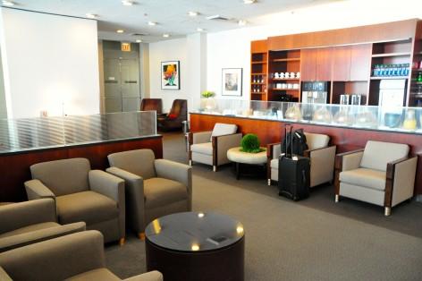 United GlobalFirst Lounge at JFK