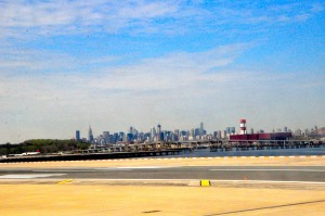 View from a LaGuardia runway