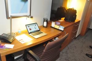A Hyatt Place guestroom