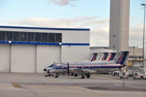 Soon-to-be rare SkyWest turboprops in Salt Lake City