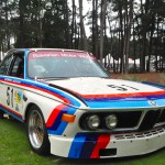 1972 BMW CSL race car