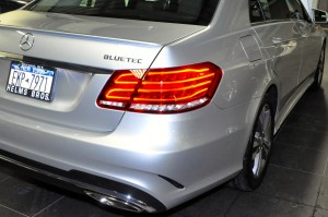 The E250 BlueTec becomes the E250d under the new naming conventions