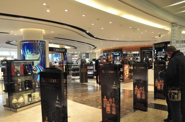 Shopping at Sheremetyevo International Airport