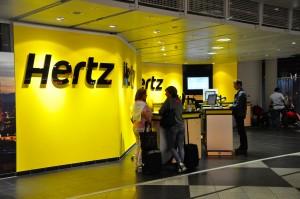 Hertz counter at Munich Airport