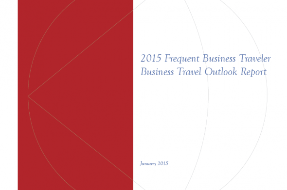 2015 Business Travel Outlook Report Cover