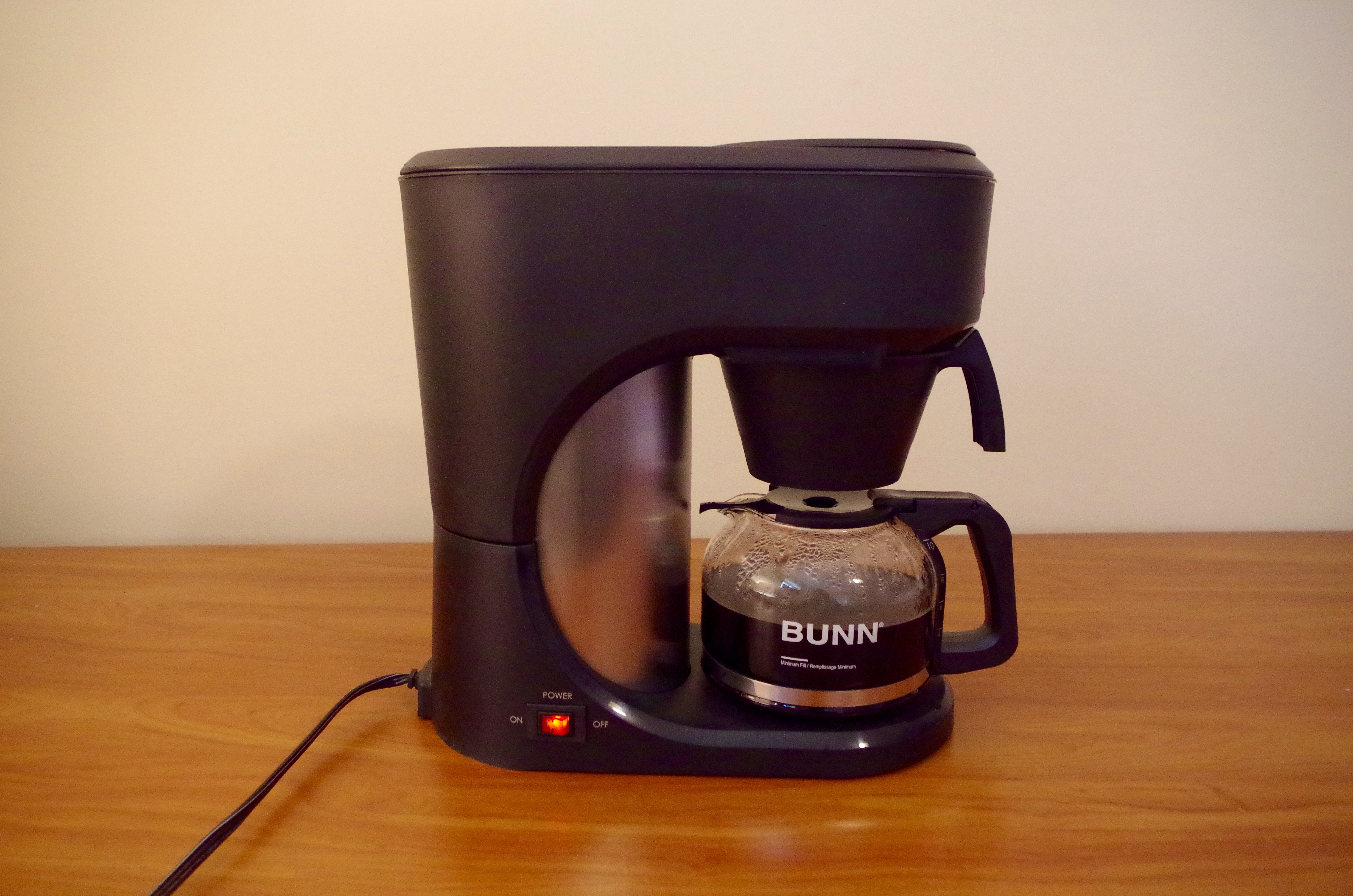 Bunn Coffee Maker Initial Setup : Bunn Speed Brew Coffee Machine Review Frequent Business Traveler