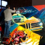BMW painted its past to celebrate the future.
