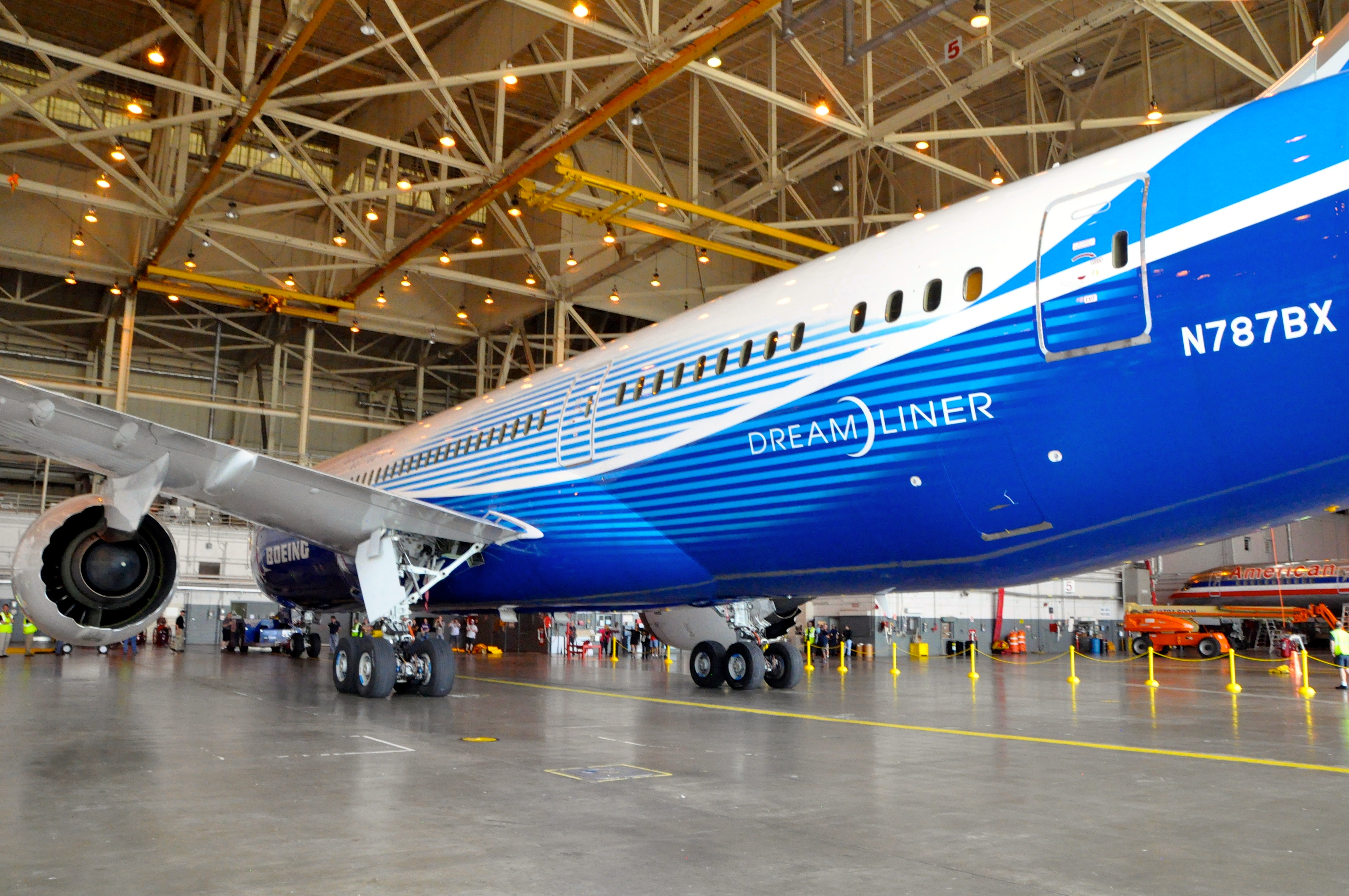 New high-tech aircraft such as the Boeing Dreamliner and Airbus A350 are in high demand