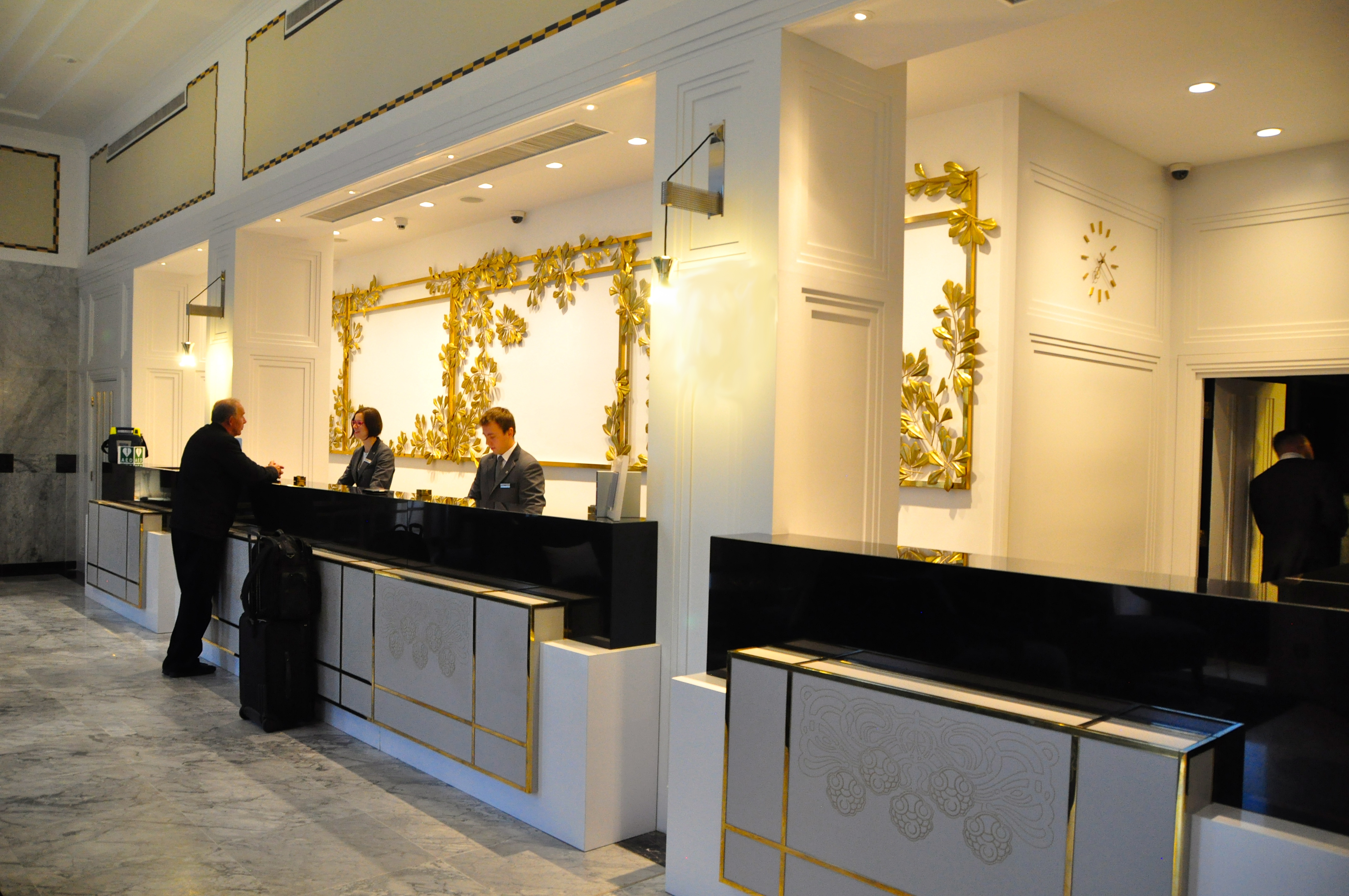 Lobby of the Bristol, Warsaw - a Starwood Luxury Collection Property