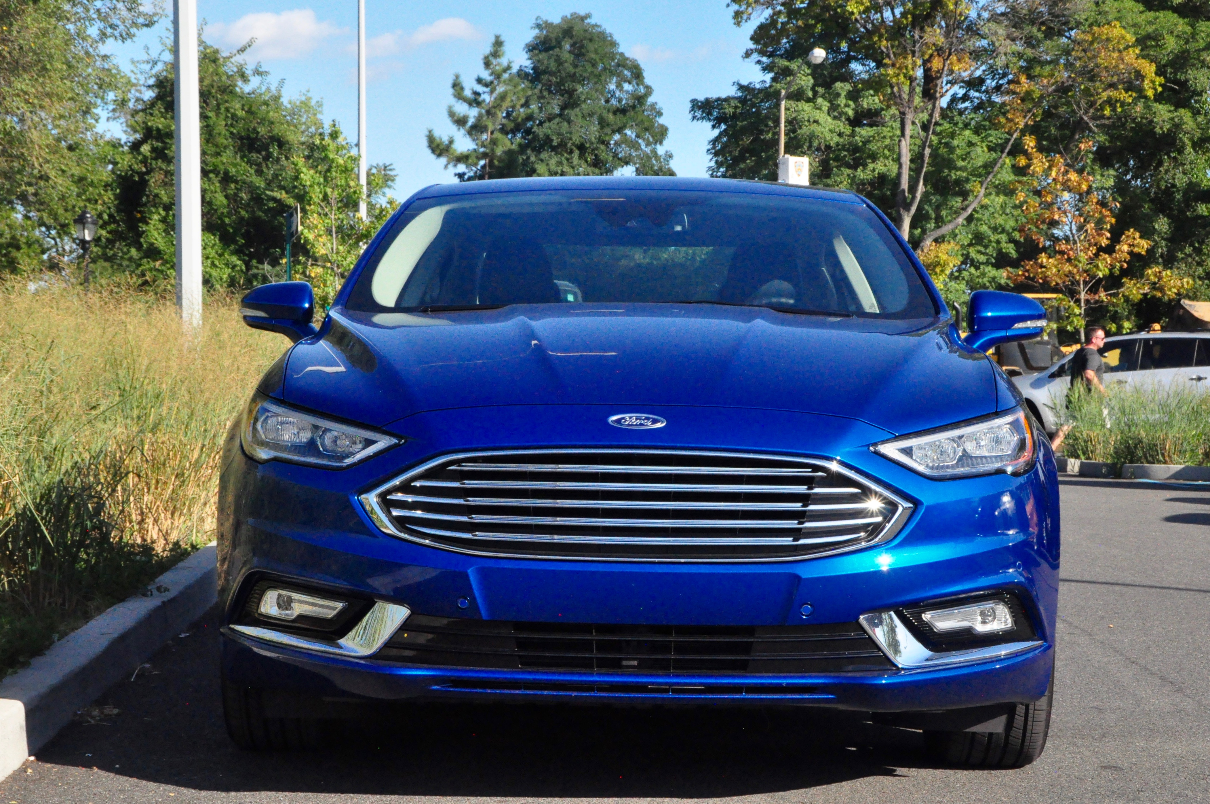 2017 ford fusion titanium hybrid first look and review frequent business traveler. Black Bedroom Furniture Sets. Home Design Ideas