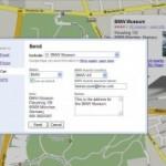 Google Maps Send to Car