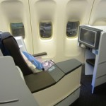 KLM New World Business Class New York-Amsterdam – Flight Review