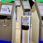 American 'Streamlines' Kiosk Check-In Process at Airports